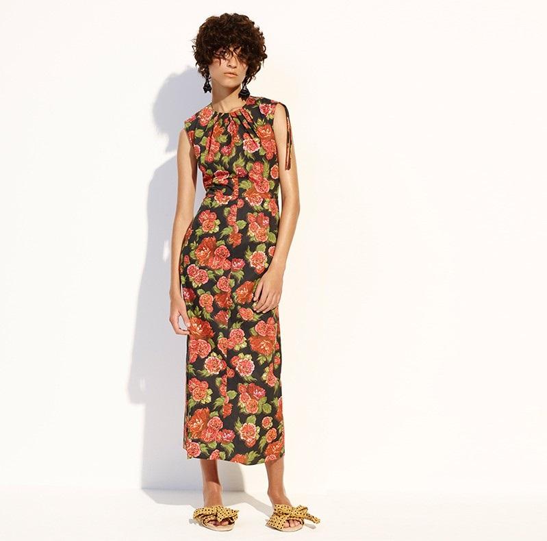 Emilia Wickstead Carrie floral-print midi dress