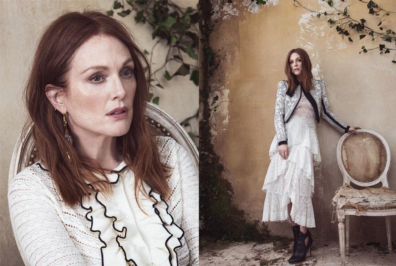 Erdem Simone tiered crocheted lace midi skirt