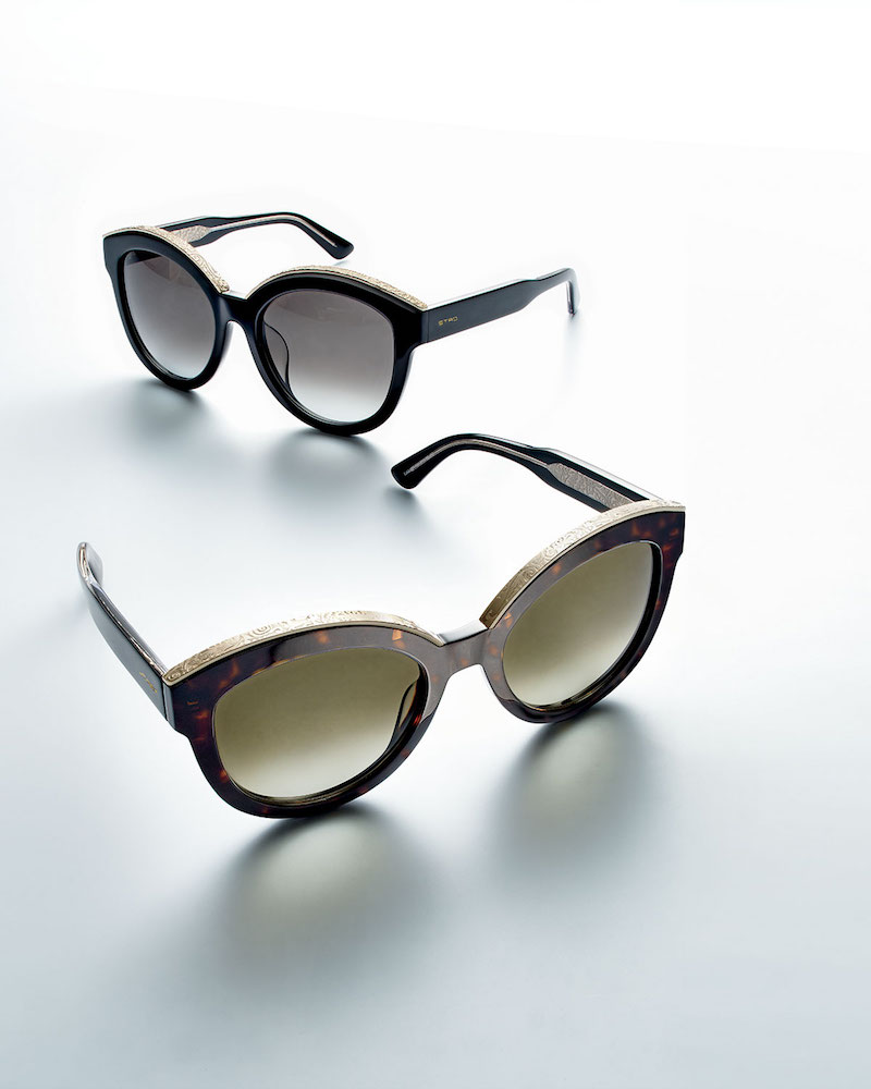 Etro Metallic-Trim Cat-Eye Sunglasses