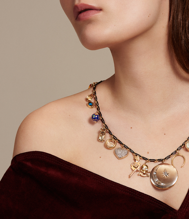 Renee Lewis Everything You Need In Life Charm Necklace