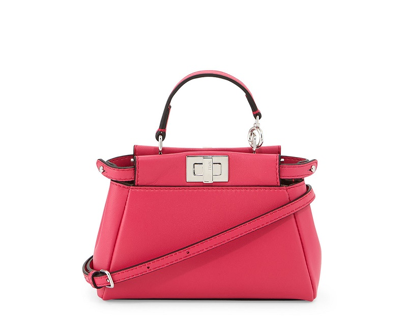 Fendi Peekaboo Micro Satchel Bag