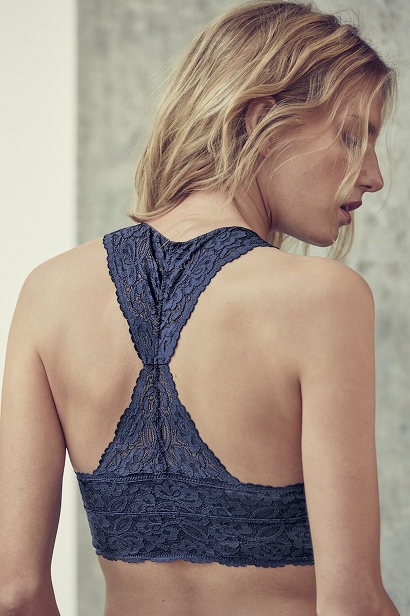Free People Racerback Galloon Lace Bralette