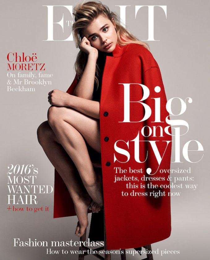 Girl Boss: Chloë Grace Moretz for The EDIT