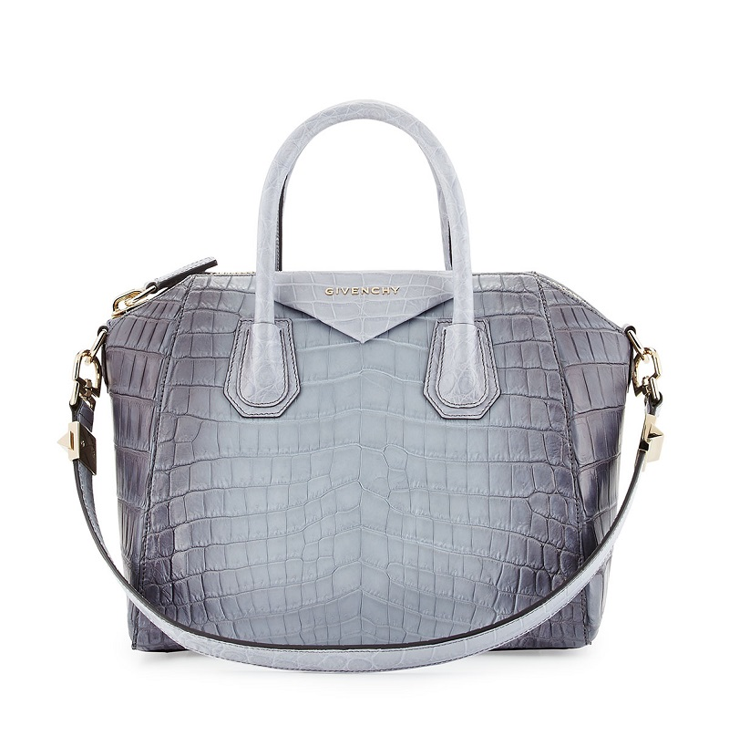 Givenchy Antigona Small Crocodile Bag
