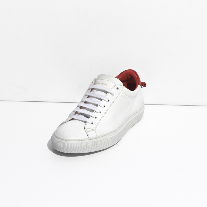 Givenchy Leather Lace-Up Sneakers