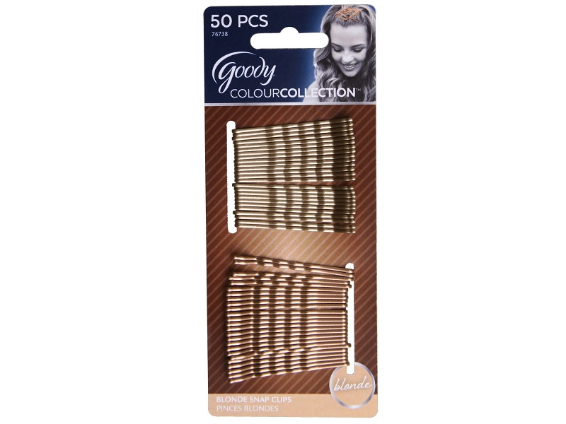 Goody Colour Collection Metallic Finish Bobby Pin, Blonde