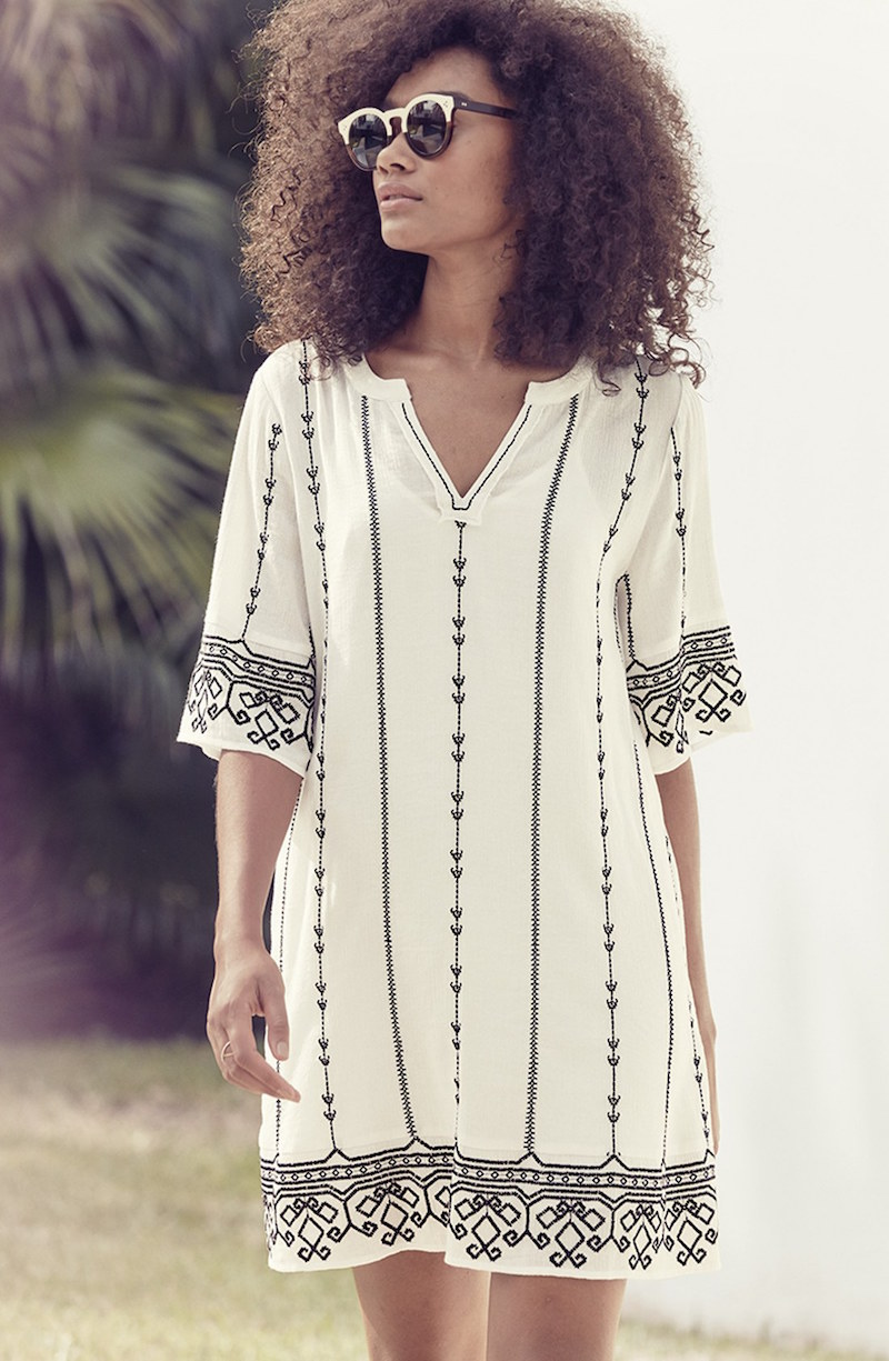 Hinge Embroidered Caftan