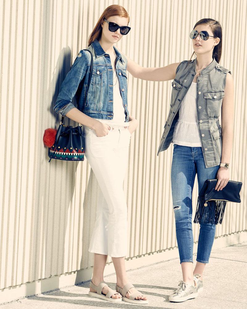 J Brand Jeans Harlow Distressed Shrunken Denim Jacket