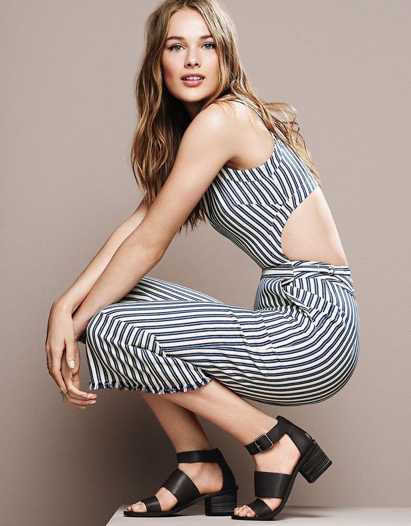 J.O.A. Stripe Jumpsuit