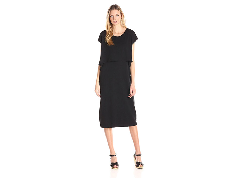 Joan Vass Double-Layer Dress
