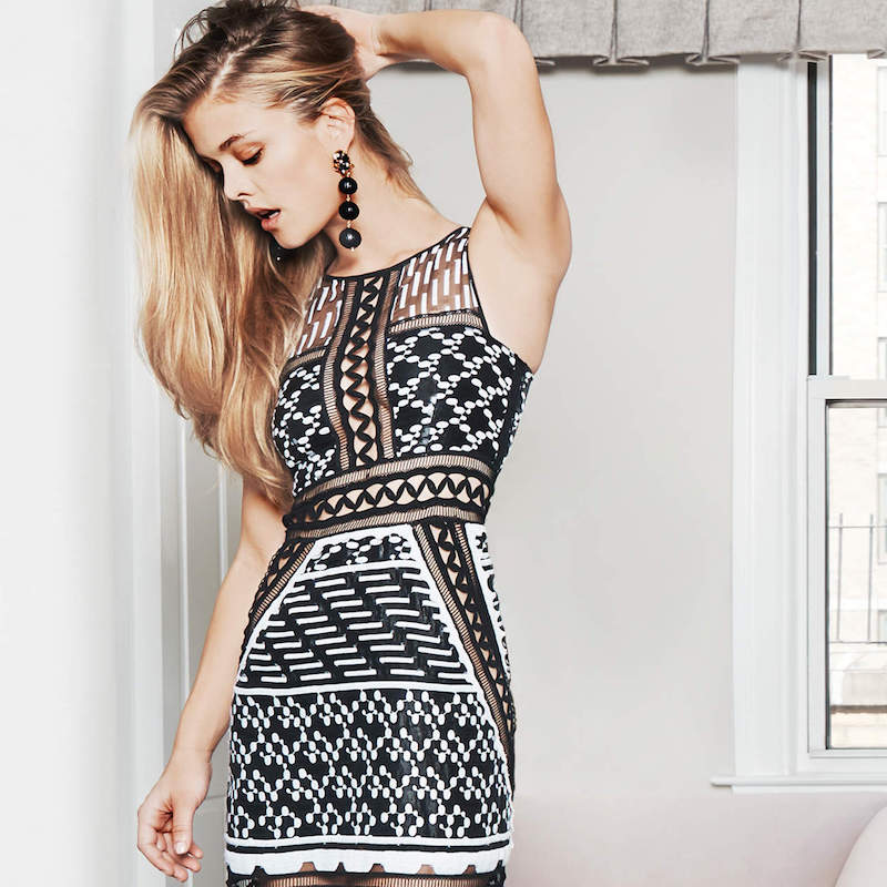 Jonathan Simkhai Organza Midi Dress