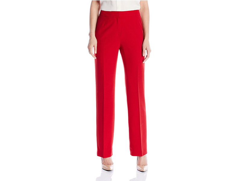 Kasper Women's Stretch Crepe Pant