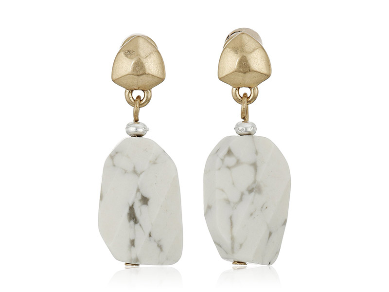 Kenneth Cole New York Palm Desert Semiprecious Stone Drop Earrings