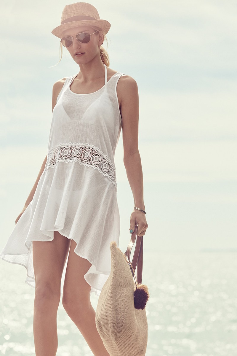 La Blanca Island Fare Cover-Up Tank Dress