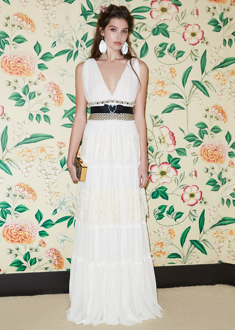 Lanvin Lace Gown