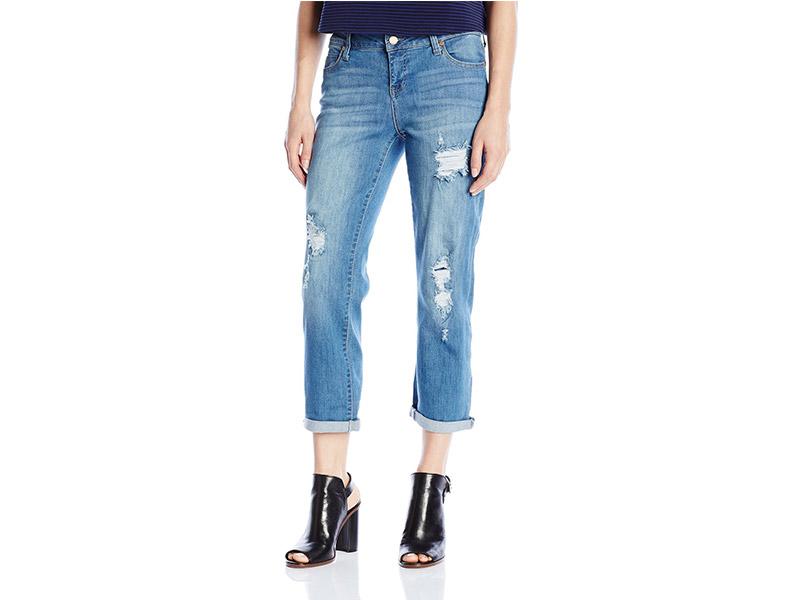 Liverpool Jeans Company Corey Cropped Boyfriend Jean