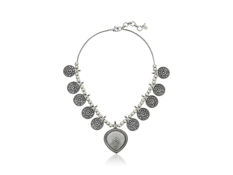 Lucky Brand Silver-Tone Bali Lucky Layer Necklace