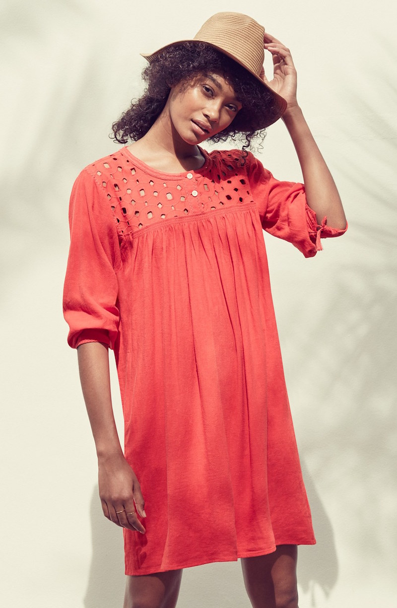 Madewell Daybreak Eyelet Dress