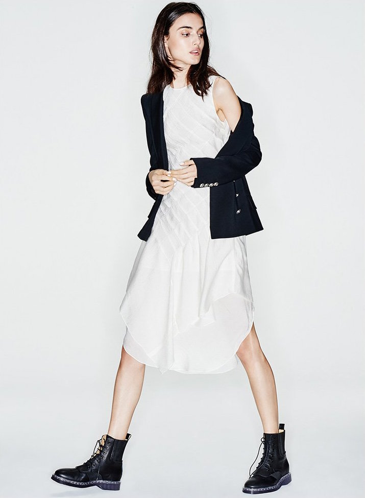 Maiyet Soft Pleated Dress