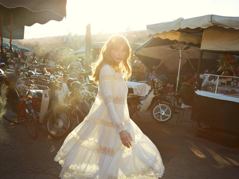 Mes Demoiselles Plenty Lace Dress