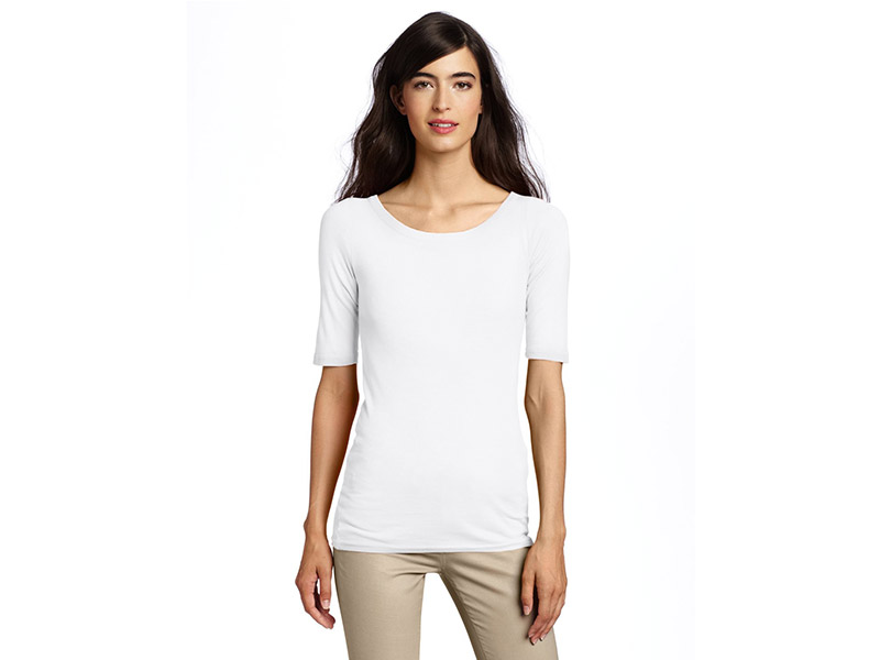Michael Stars Scoop-Neck T-Shirt