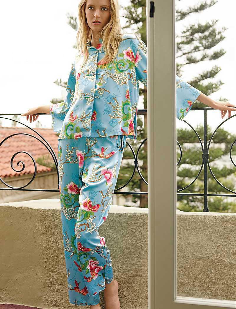 Natori Magnolia Mandarin Pajamas