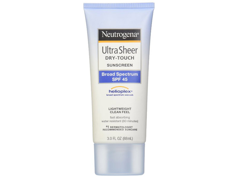 Neutrogena Ultra Sheer Drytouch Sunscreen