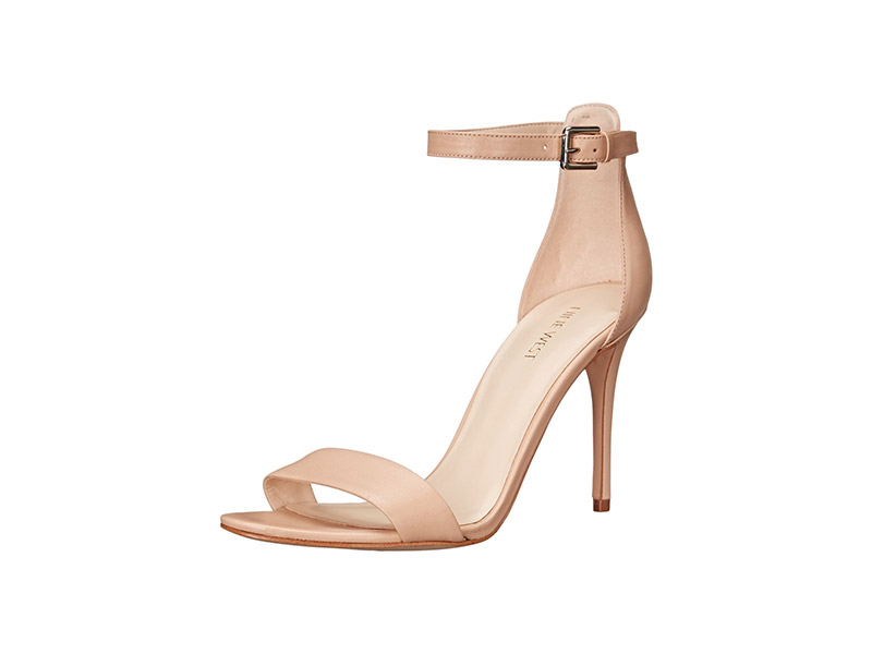 Nine West Mana Leather Heeled Sandal