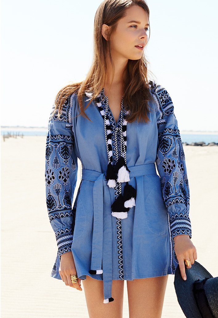 ONE by Embroidered Dress