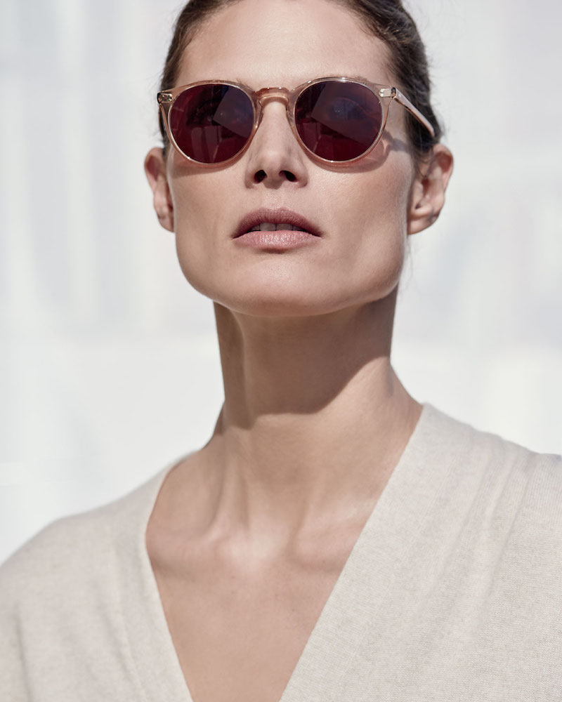 Oliver Peoples The Row O'Malley NYC Peaked Round Photochromic Sunglasses