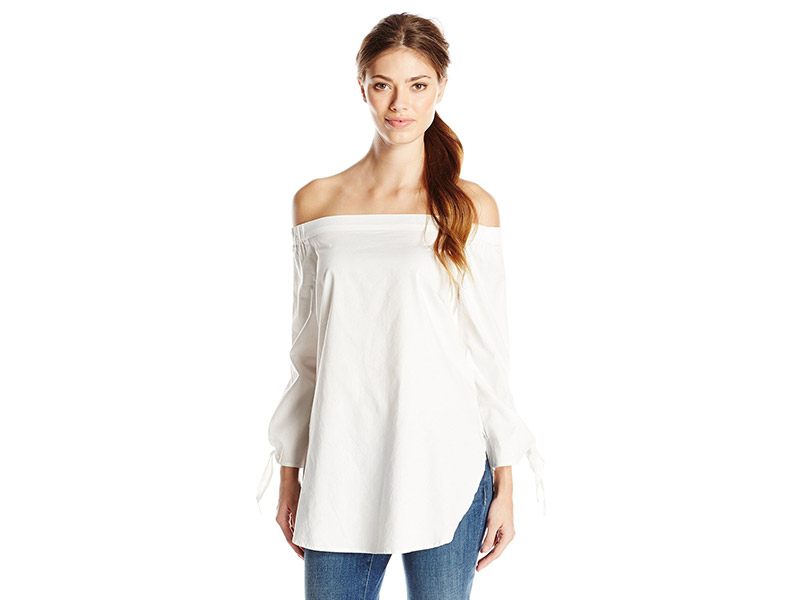 RD Style Off The Shoulder Cotton Blouse