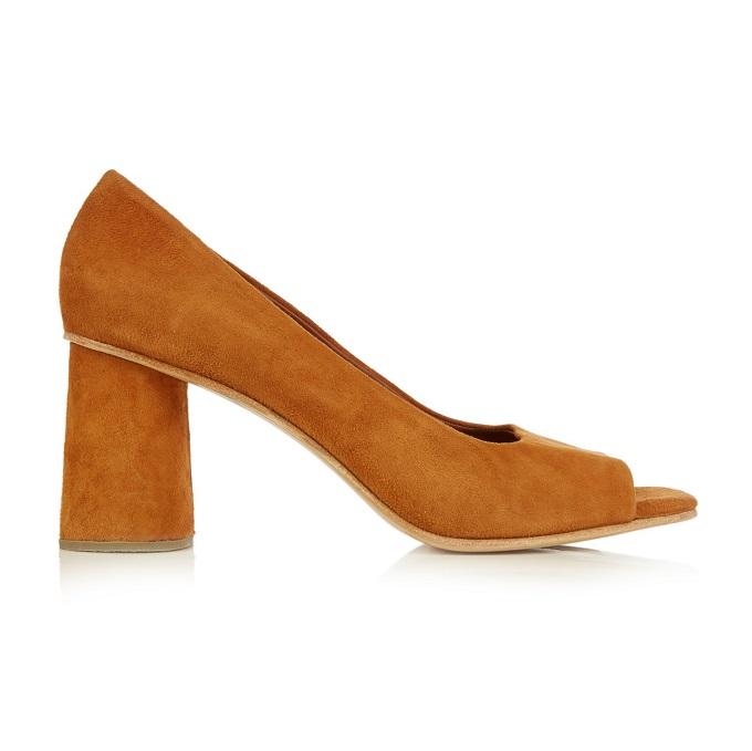 Rachel Comey Kinzey suede block-heel pumps-