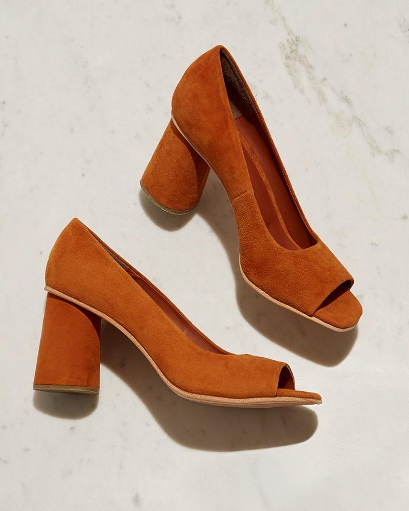 Rachel Comey Kinzey suede block-heel pumps