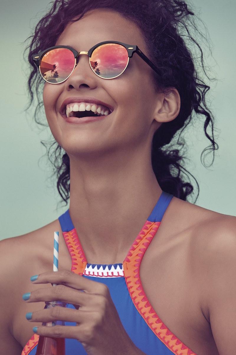 Ray-Ban Club 51mm Sunglasses