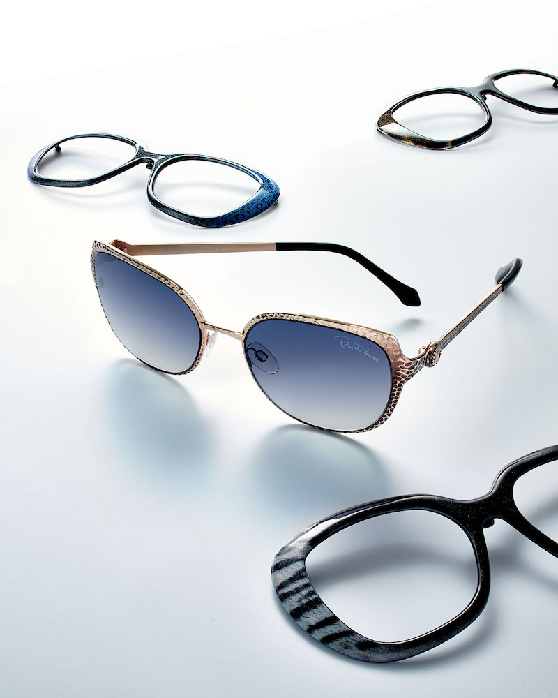 Roberto Cavalli Limited Edition Interchangeable Sunglasses