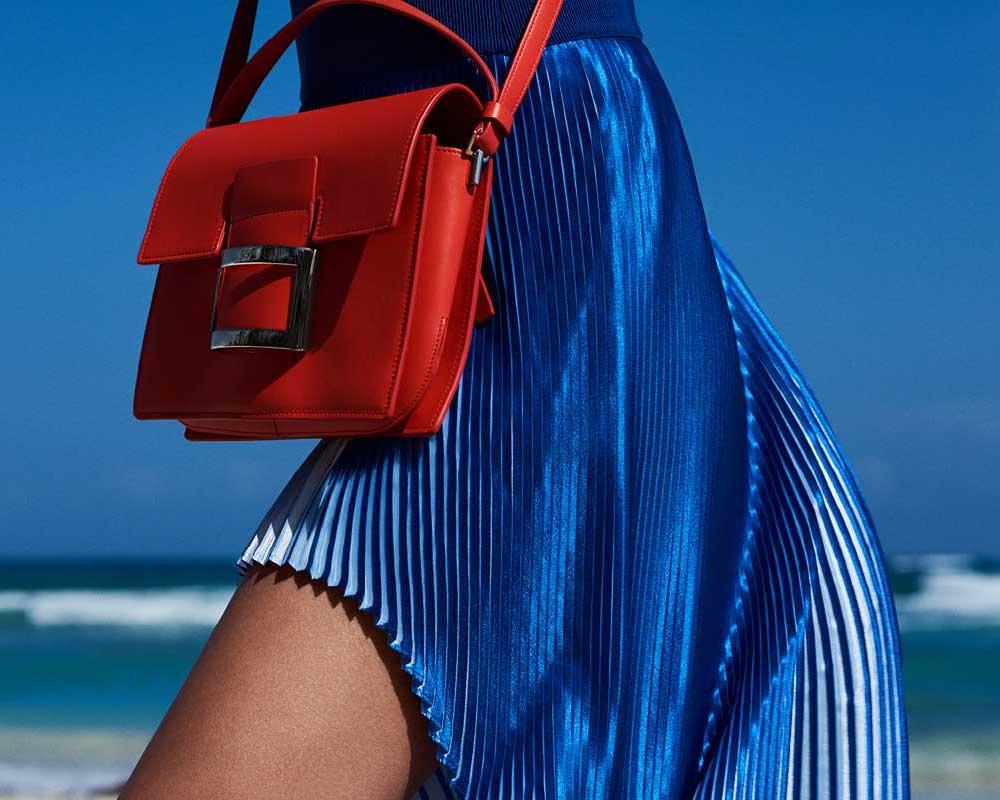 Roger Vivier Viv' Icon Mini Leather Shoulder Bag
