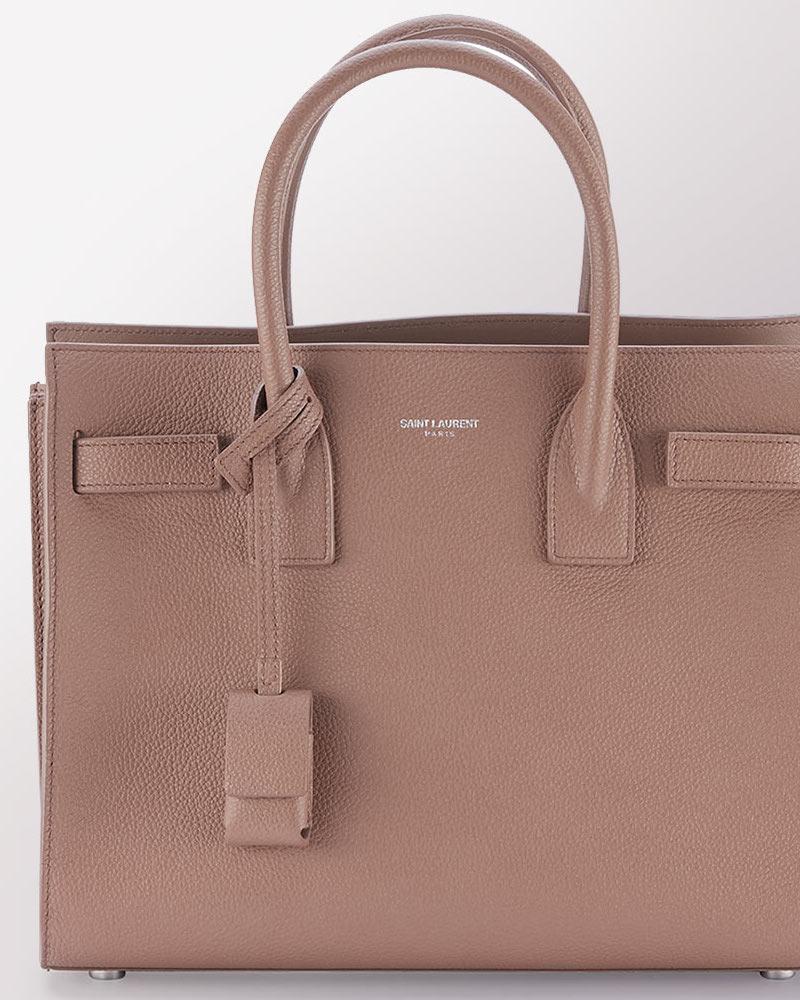 Saint Laurent Sac de Jour Baby Grain Leather Satchel Bag