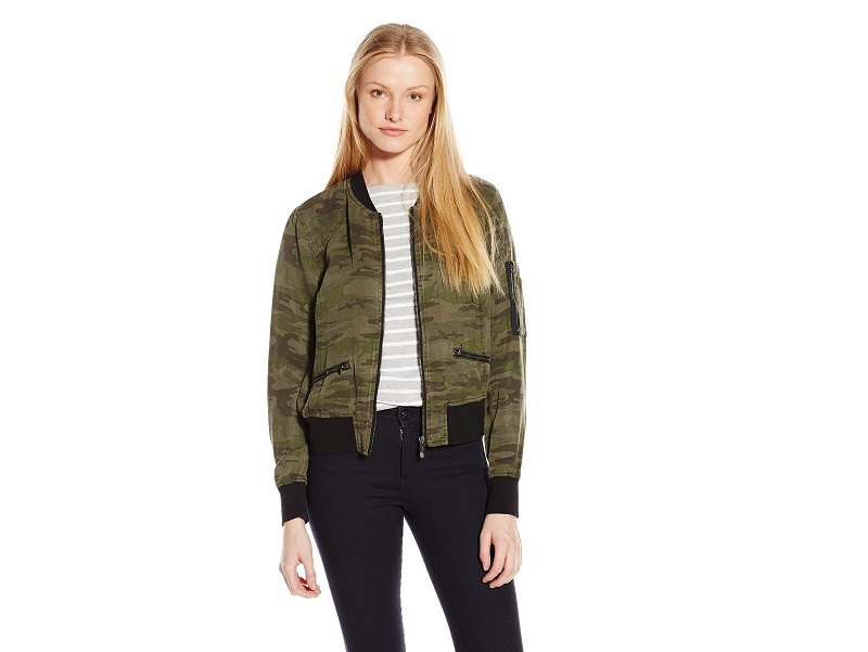 Sanctuary Clothing Women's New Shrunken Bomber Jacket