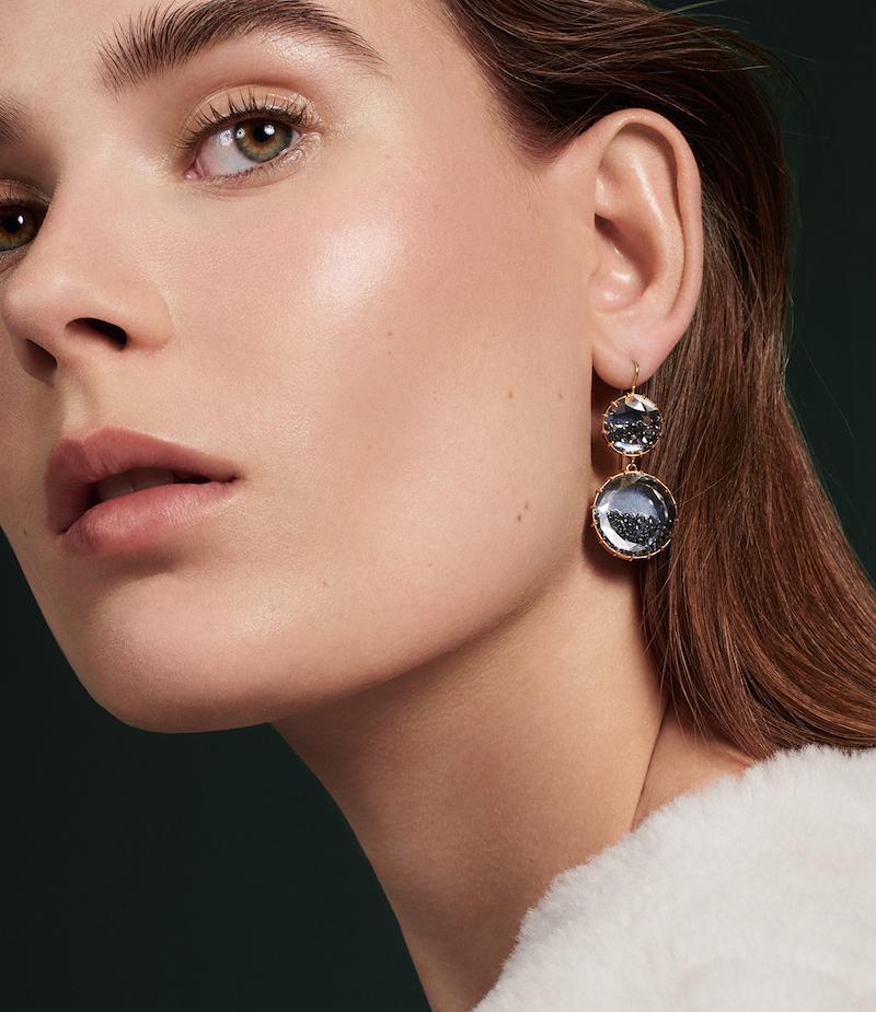 Renee Lewis Shake Double-Drop Earrings