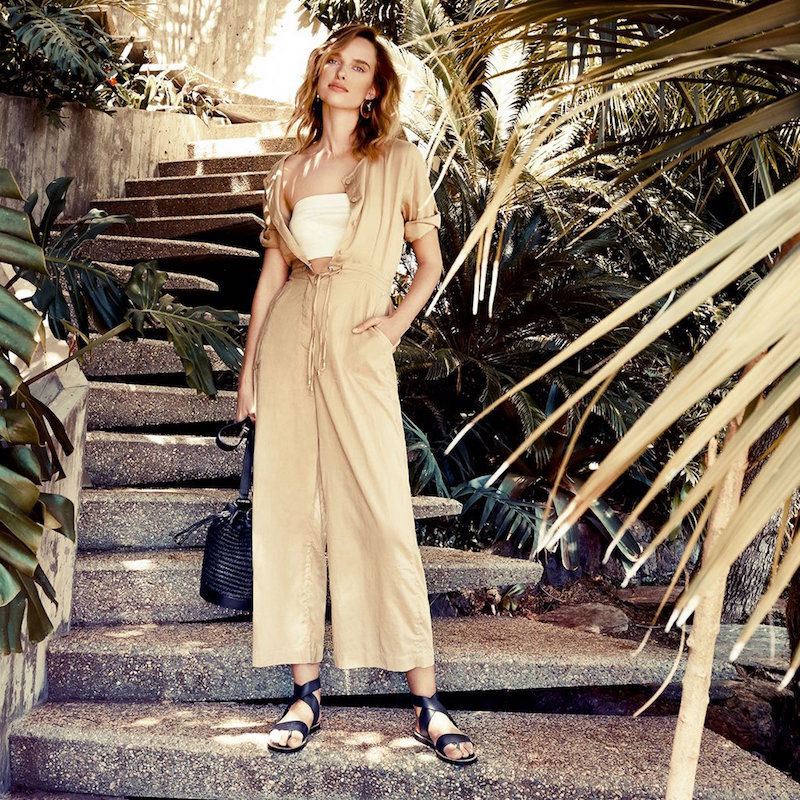 Shakuhachi Safari Wide Leg Jumpsuit