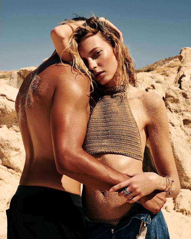 She Made Me Savarna Halterneck Crochet Bikini Top