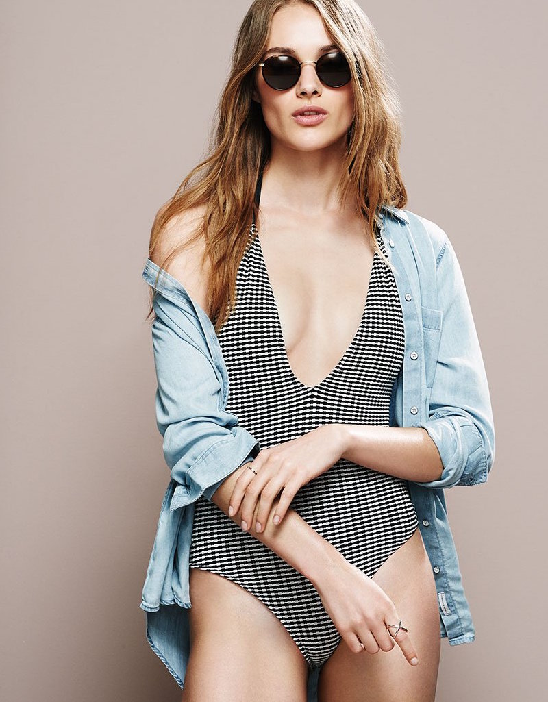 Solid & Striped The Alexandra One Piece