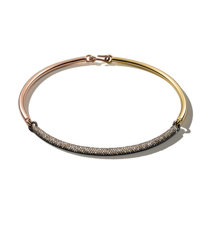 Spinelli Kilcollin Tri‑Bar Choker Necklace