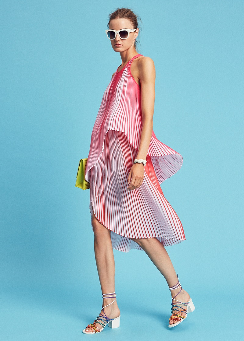 Stella McCartney Pleated Tank Dress