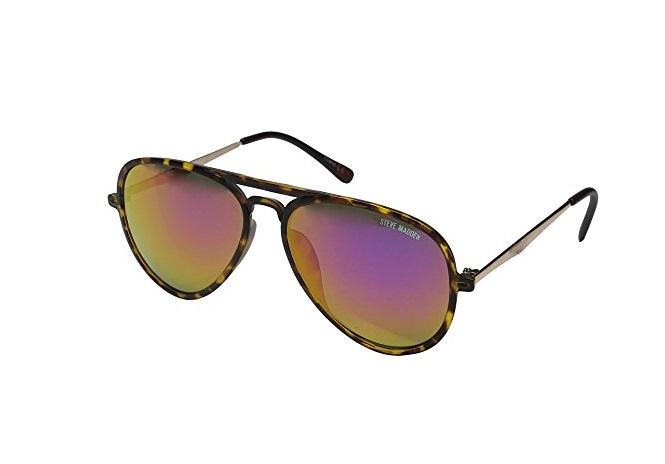 Steve Madden Women's Robbie SM462108 Polarized Aviator Sunglasses