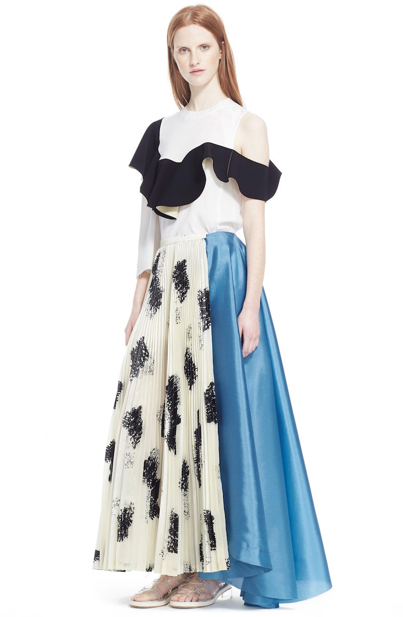 TOGA Asymmetrical Maxi Skirt