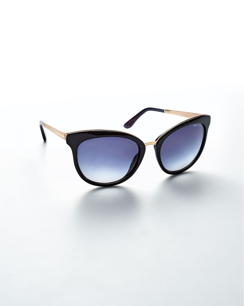 TOM FORD Emma Gradient Cat-Eye Sunglasses