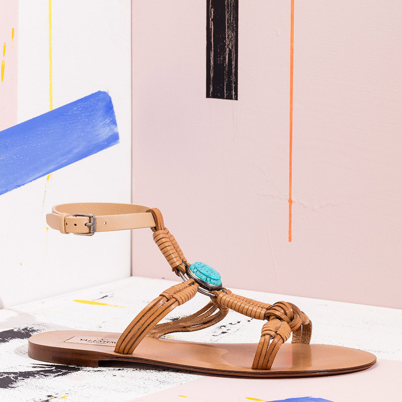 Valentino Scarab Sandals