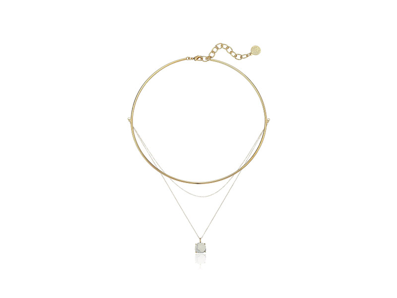 Vince Camuto Delicate Collar and Chain Swag Pendant Necklace