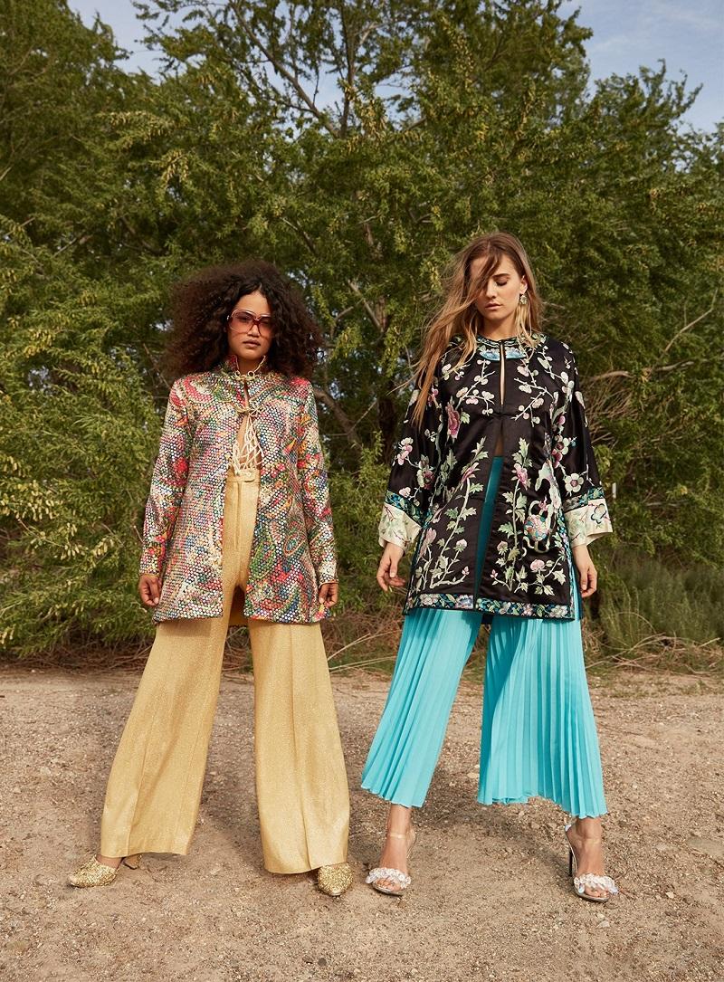 Vintage Sequin or Lose Paisley Jacket